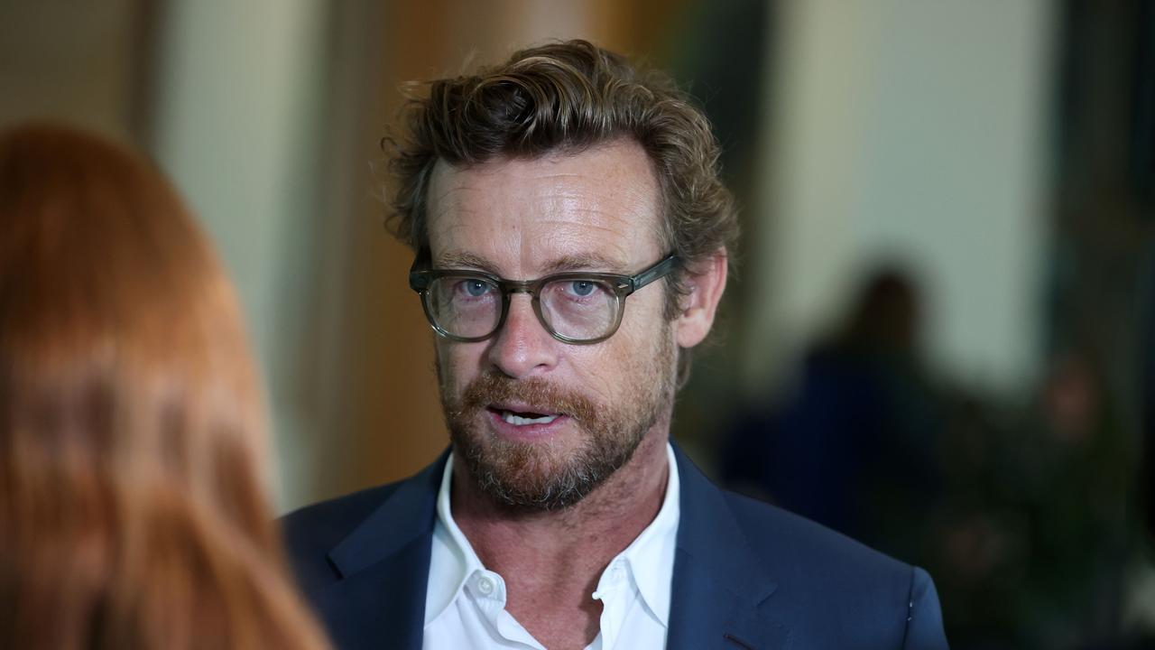 Australian actor Simon Baker. Picture: NCA NewsWire / Gary Ramage