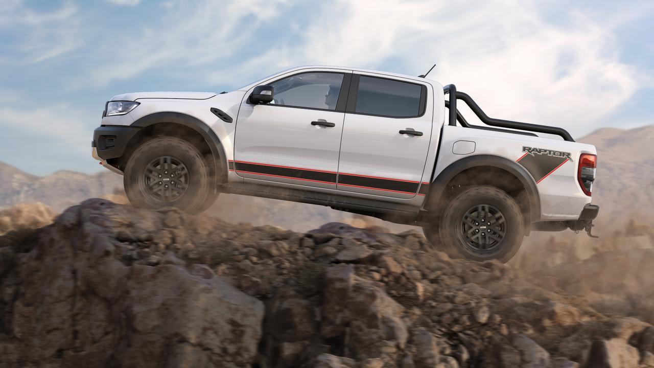 Ford's new Ranger Raptor X.