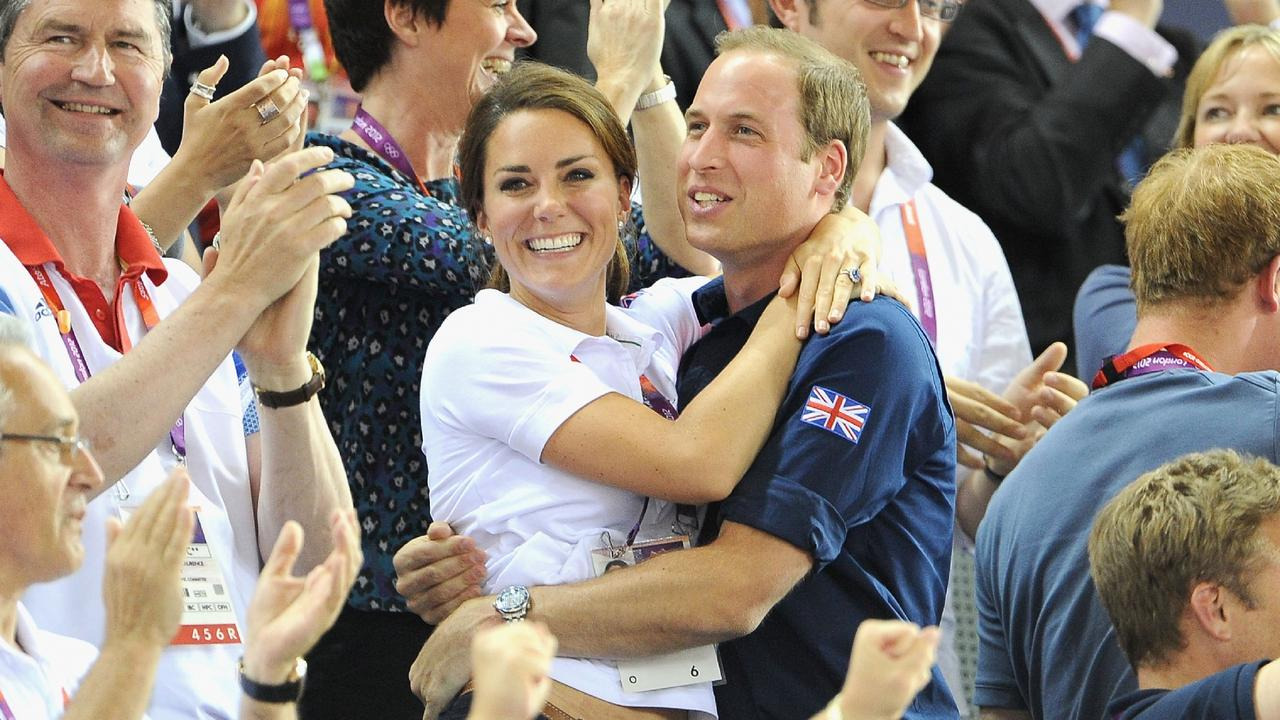 In 2012, newlyweds William and Kate announced their pregnancy with Prince George. Picture: Pascal Le Segretain/Getty