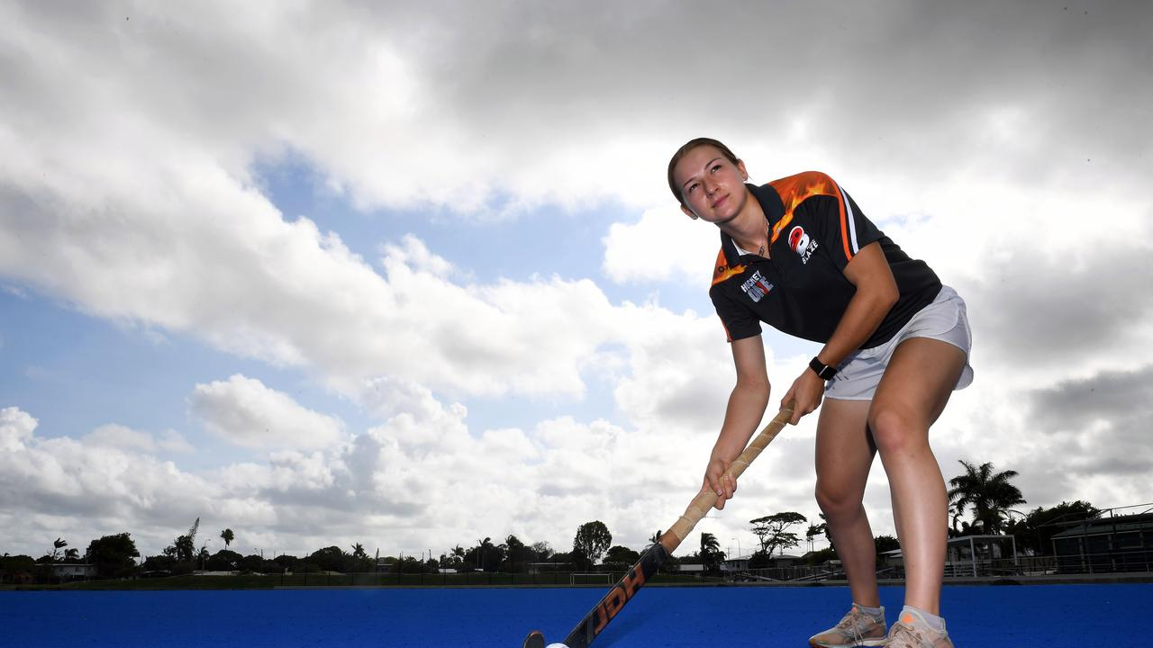 Hockey player Claire Colwill. Picture: Tony Martin
