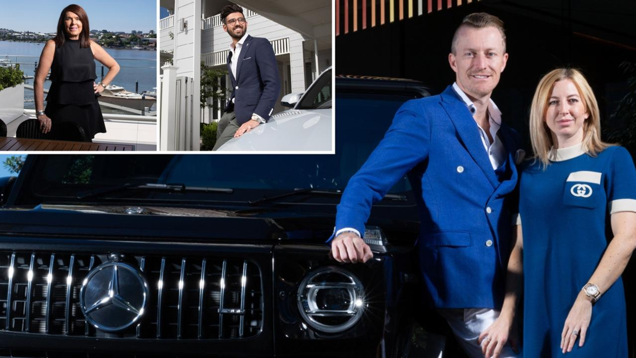 Top real estate agents take us inside their luxurious lives and tell us how much work it's taken them to get to the top.