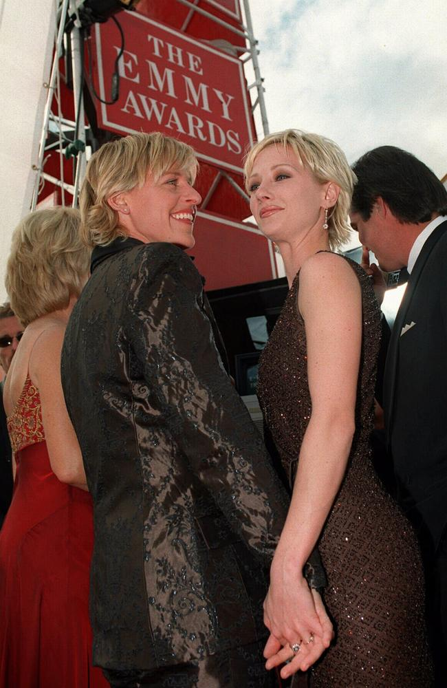 The couple pictured at the 1997 Emmys.