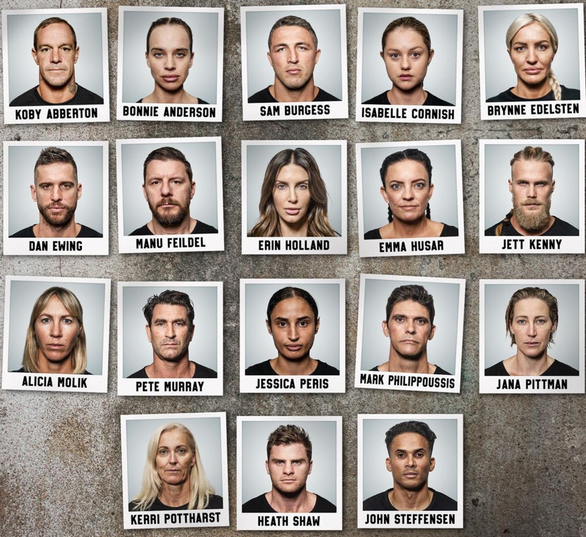 SAS Australia 2021 cast. Picture: Channel 7