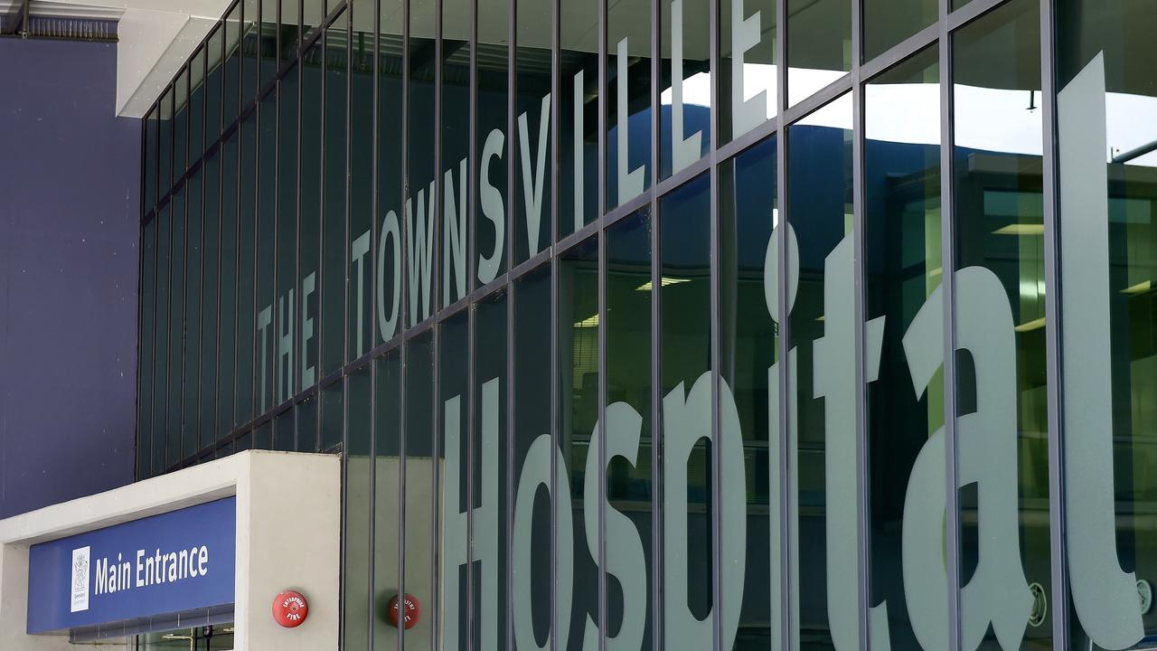 The toddler had to be flown to Townsville University Hospital for treatment.
