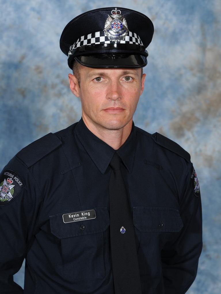 Senior Constable Kevin King.