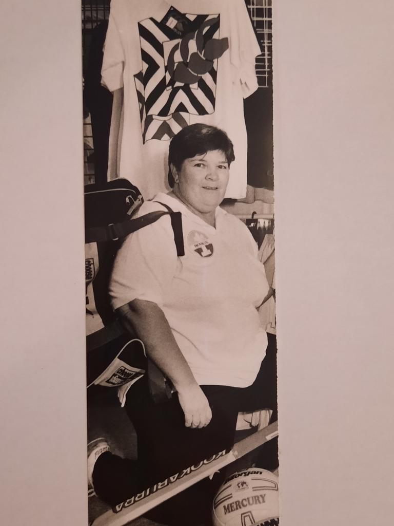 Dedicated Ipswich sports researcher and community volunteer Sue Ward.