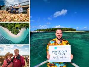 APPLY NOW: The jobs in paradise up for grabs