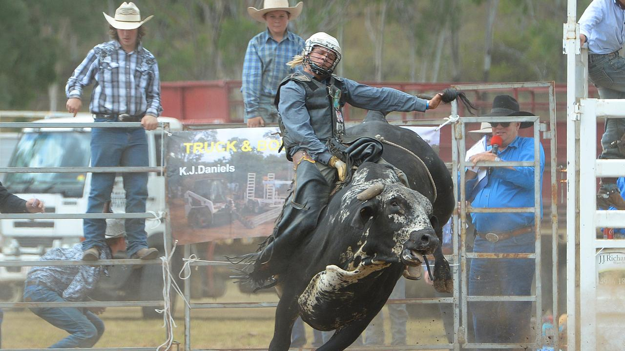 The Mount Morgan Rodeo will be held from 10am Sunday at the town's showgrounds.