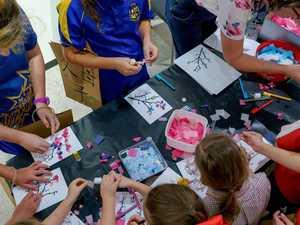 Saiki exhibit gives Gladstone kids a taste of Japanese life