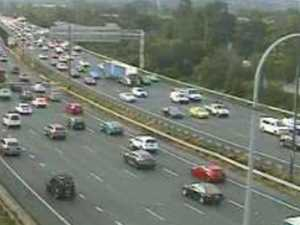Hour-long delays and gridlock in long weekend traffic hell