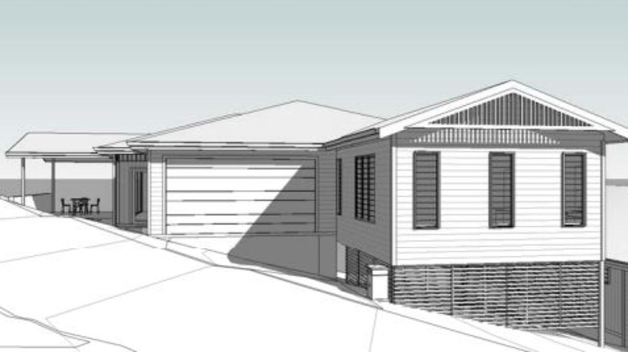 Some 3D renders of the Teak Street proposal.