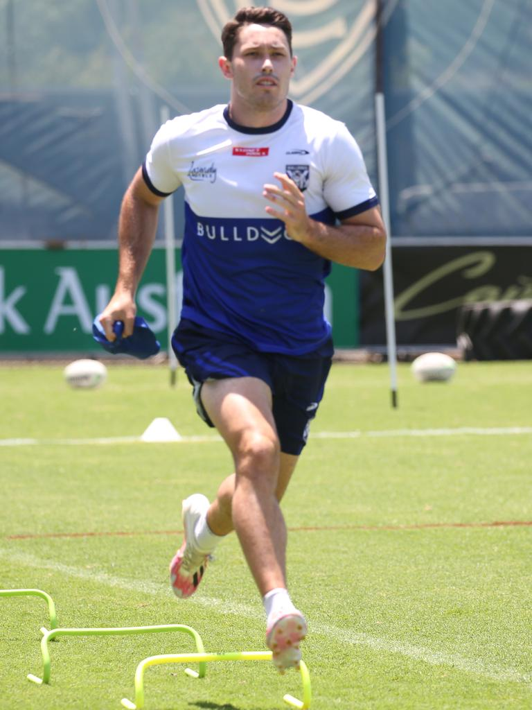 Canterbury Bulldogs flyer Nick Meaney. Picture: Bulldogs Media