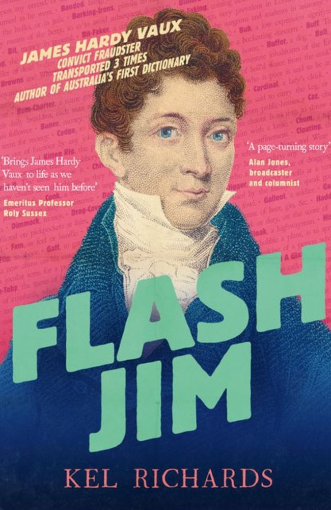 Flashy fella ... the cover of Flash Jim by Kel Richards.