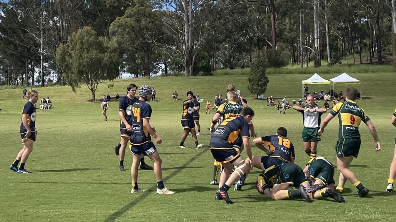 Sunshine Coast Stingrays players in action.