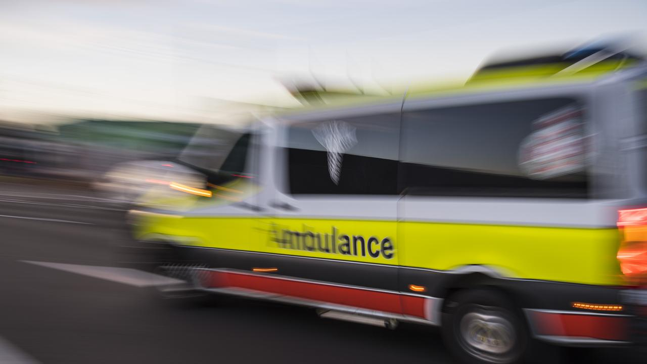 People taken to Sunshine Coast University Hospital after multiple crashes at Tanawha and Sunshine Motorway. Picture: Kevin Farmer