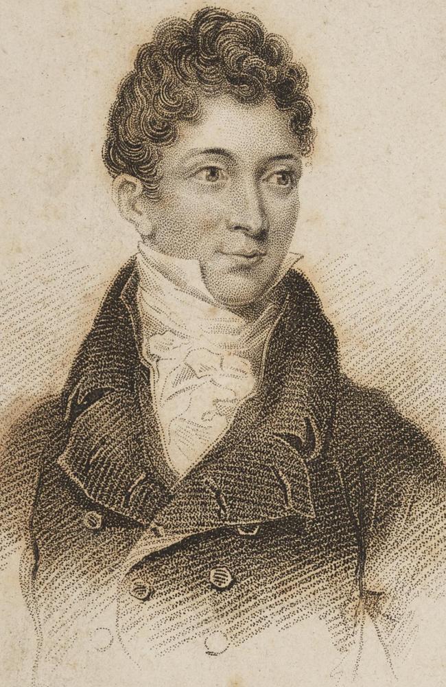 Dodgy geezer ... 'Flash Jim', aka James Hardy Vaux, circa 1825.