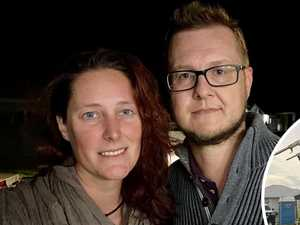 'I could've lost my husband': Wife's tears after crane crash