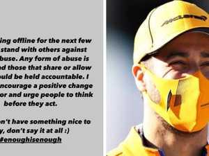 Why Ricciardo is leaving social media