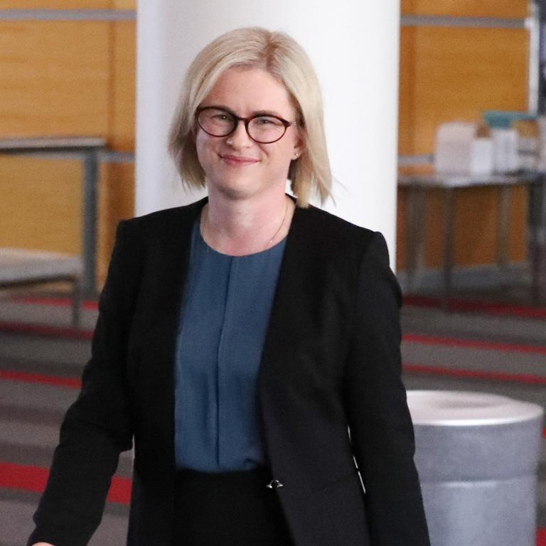 Senator Amanda Stoker was narrowly defeated by James McGrath. Picture: Liam Kidston