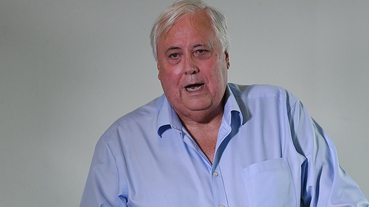 Gold Coast billionaire Clive Palmer. Picture: Lyndon Mechielsen