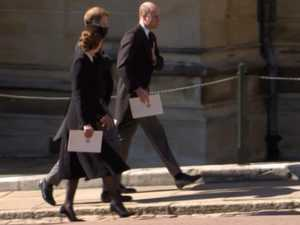 Royals told to 'leave' after funeral