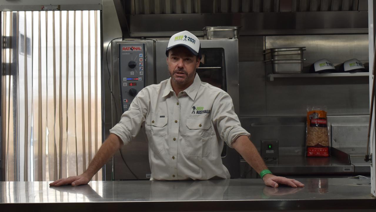 Celebrity Chef Consultant Shane Bailey.