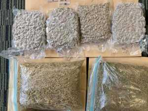 Police seize $40,000 worth of drugs in search