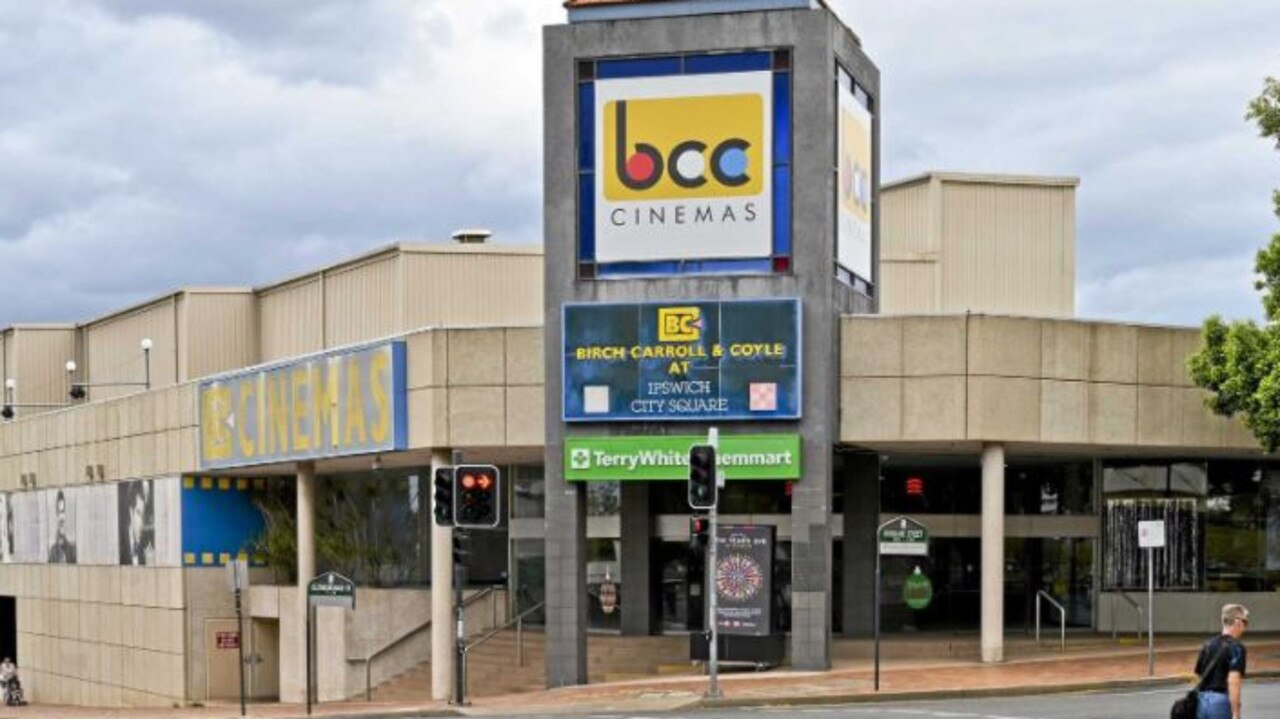 The Ipswich CBD cinema complex.
