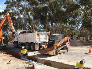 Water works: Contract to replace Gladstone mains