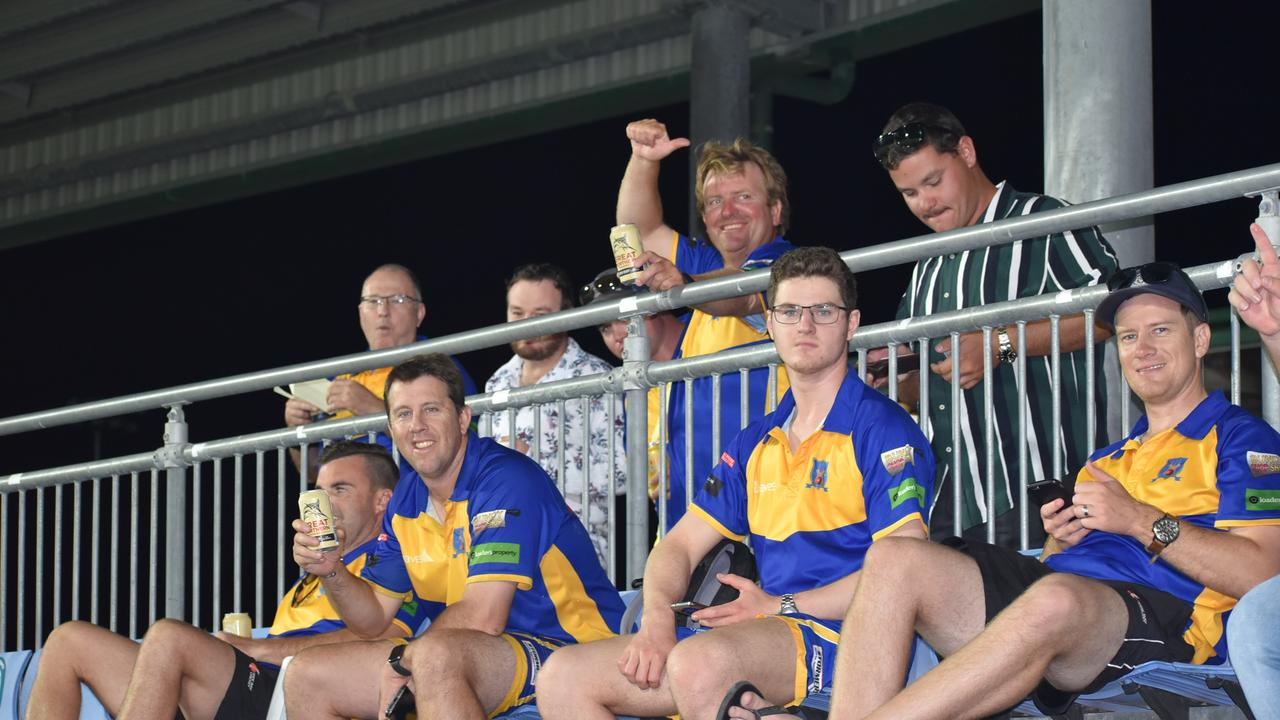 Bundaberg team Across the Waves travelled more than eight hours to play at the inaugural MI Scaffold Great Barrier Reef Arena T20 Bash for Cash. Picture: Bash for Cash