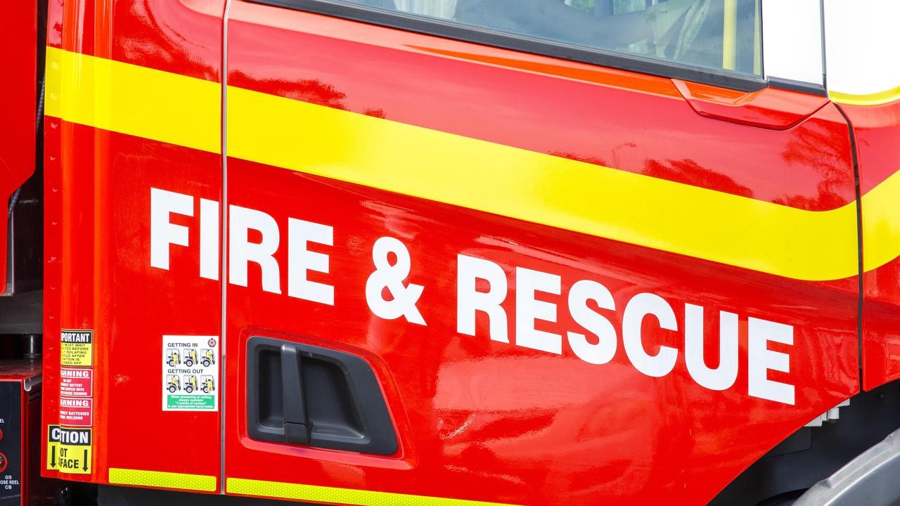 Firefighters rushed to a house fire in Lockyer Waters on Saturday night.