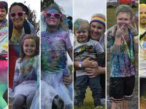 50+ photos: Crowds turn out for Coast colour frenzy