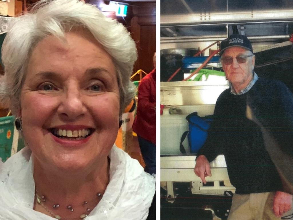 Russell Hill and Carol Clay vanished on March 20 last year during a camping trip. Picture: Supplied