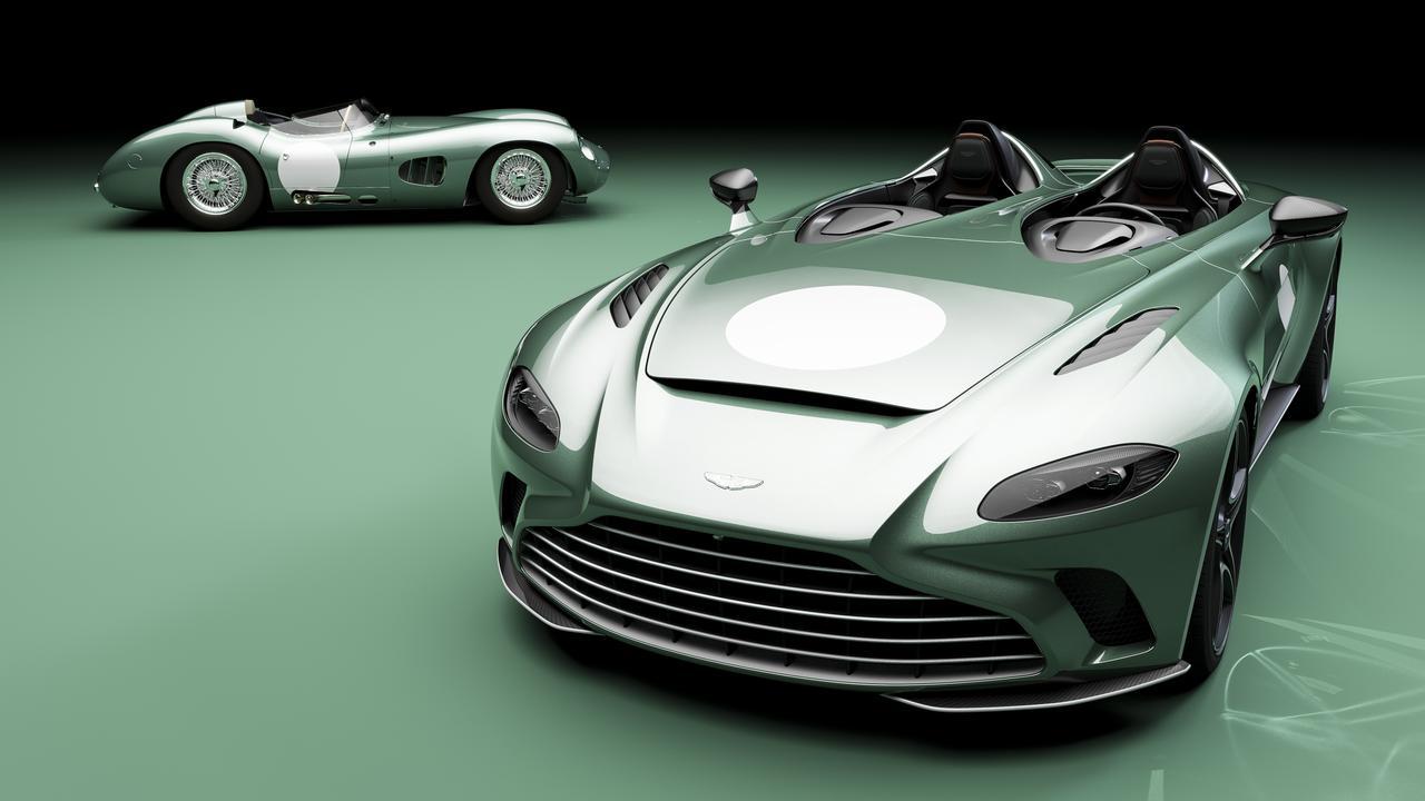 2021 Aston Martin V12 Speedster DBR1.