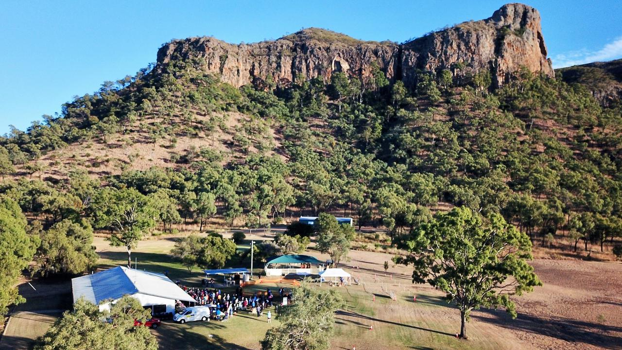 The annual Springsure Mountain Challenge Mother's Day event is back in 2021, sending participants on a fun run through the scenic Minerva Hills National Park.