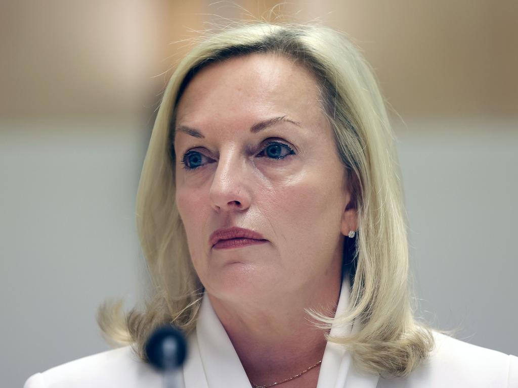Christine Holgate says she will sue Australia Post unless the government agrees to mediation talks. Picture: NCA NewsWire/Gary Ramage