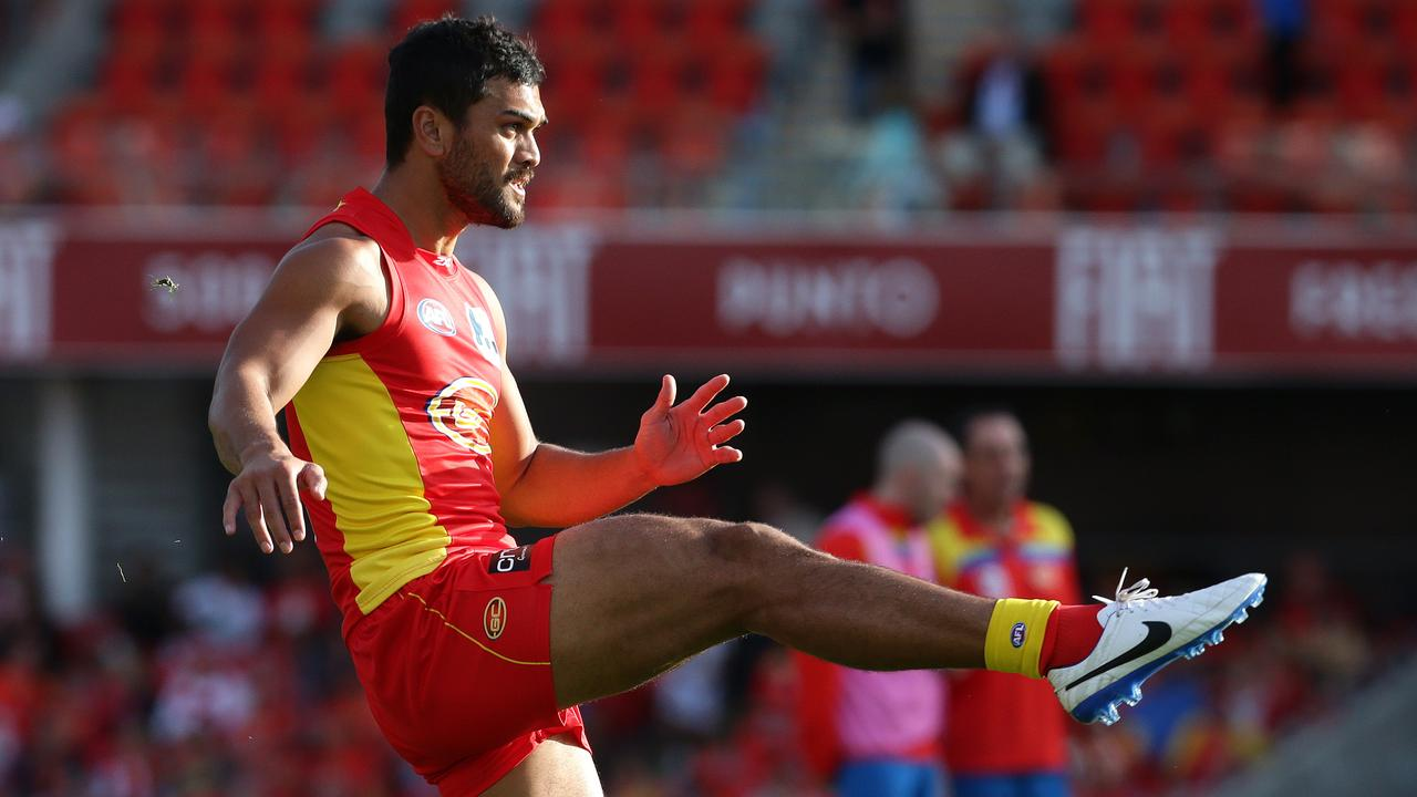Hunt tried his hand in the AFL with the Gold Coast Suns.