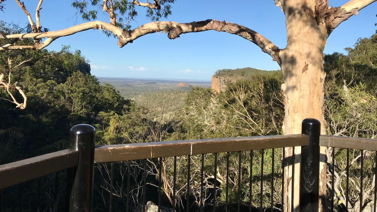 The lookout from Fred's Gorge.