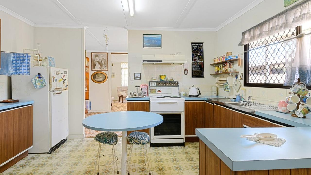A 70s-style home built in the 1980s at Currimundi recently sold for $1m.