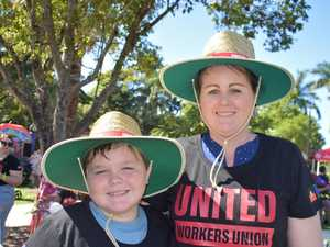 PHOTO GALLERY: Mackay Labour Day march 2021