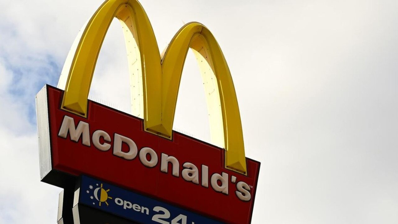 The man was attempting to escape police when he drove down the hill at Gympie Mcdonald's towards the highway and tried to drive over the fence. Picture: File photo