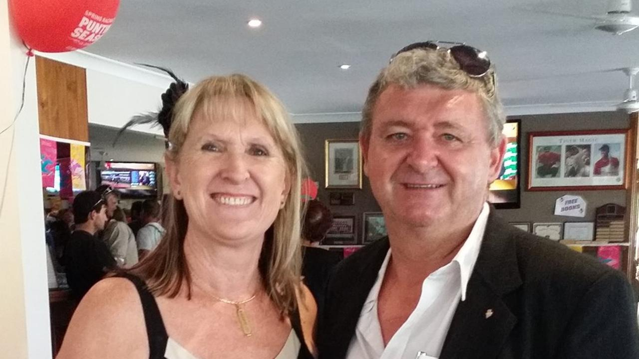 Richard Webb with wife Carolyne Webb in 2014