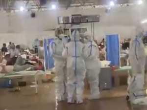 'Begging': Inside horror COVID death ward