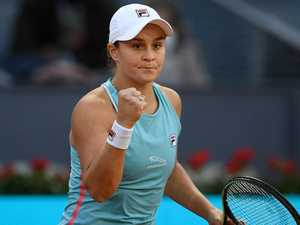 Red-hot Barty maintains the rage
