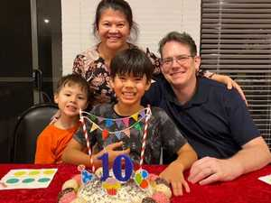 Boy, 10, faces of Rocky fundraiser for cord blood research