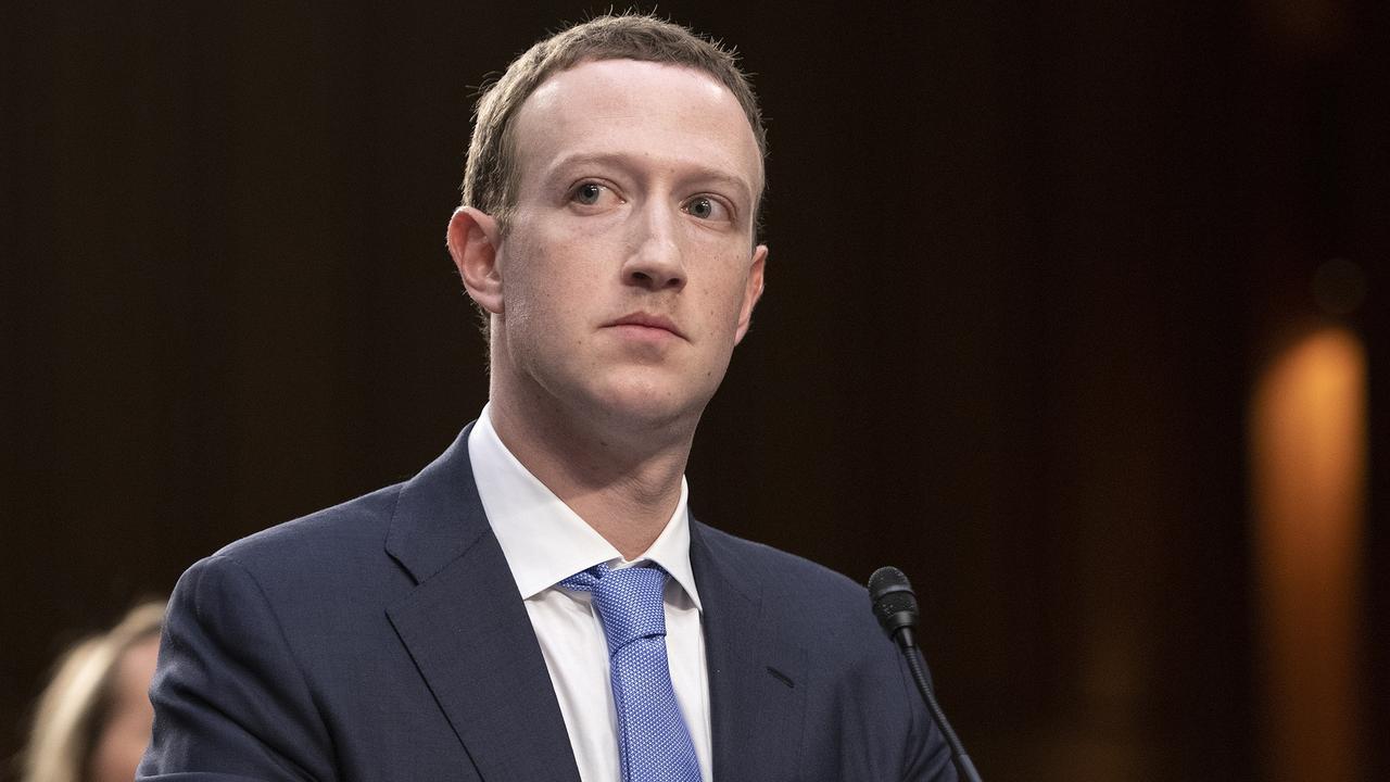 Facebook CEO Mark Zuckerberg. Picture: Ron Sachs/CNP