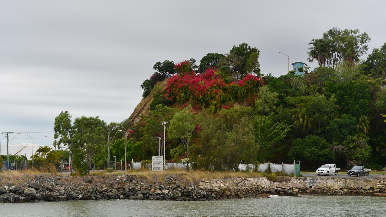 Auckland Hill, Gladstone before East Shores was established. The area will be beautified through $5 million in federal government funding to improve access, parking and link with East Shores. Photo Brenda Strong / The Observer