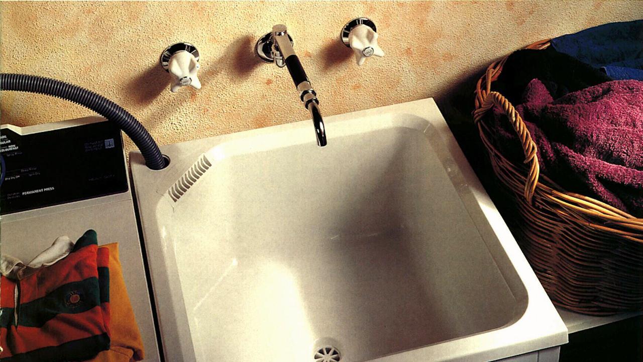 Clark laundry trough.  tub sink