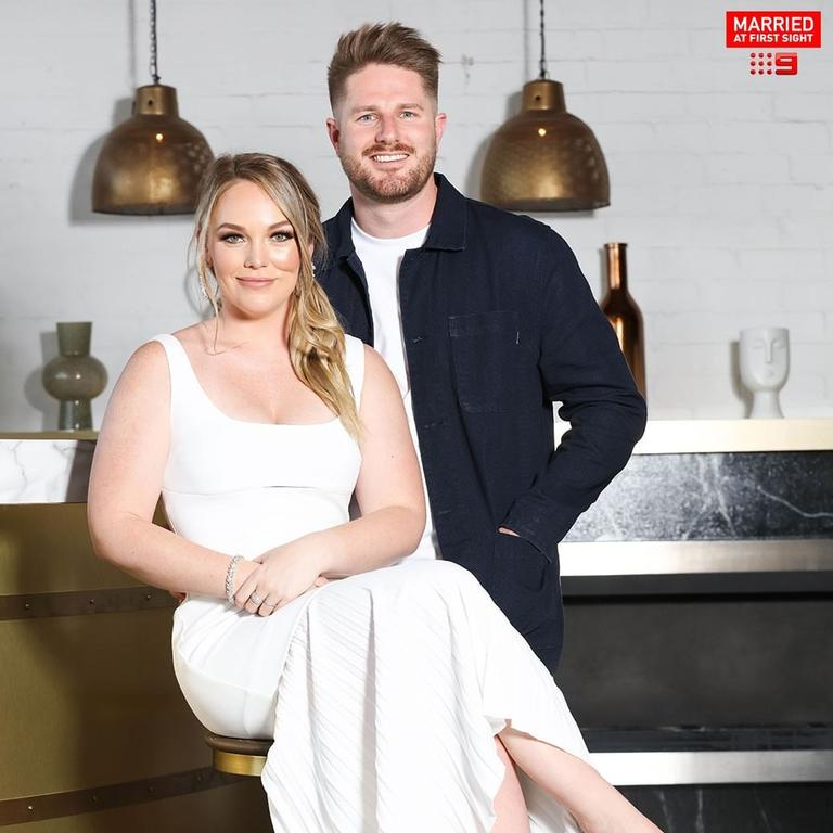 Melissa and Bryce met on Married At First Sight. Picture: Instagram