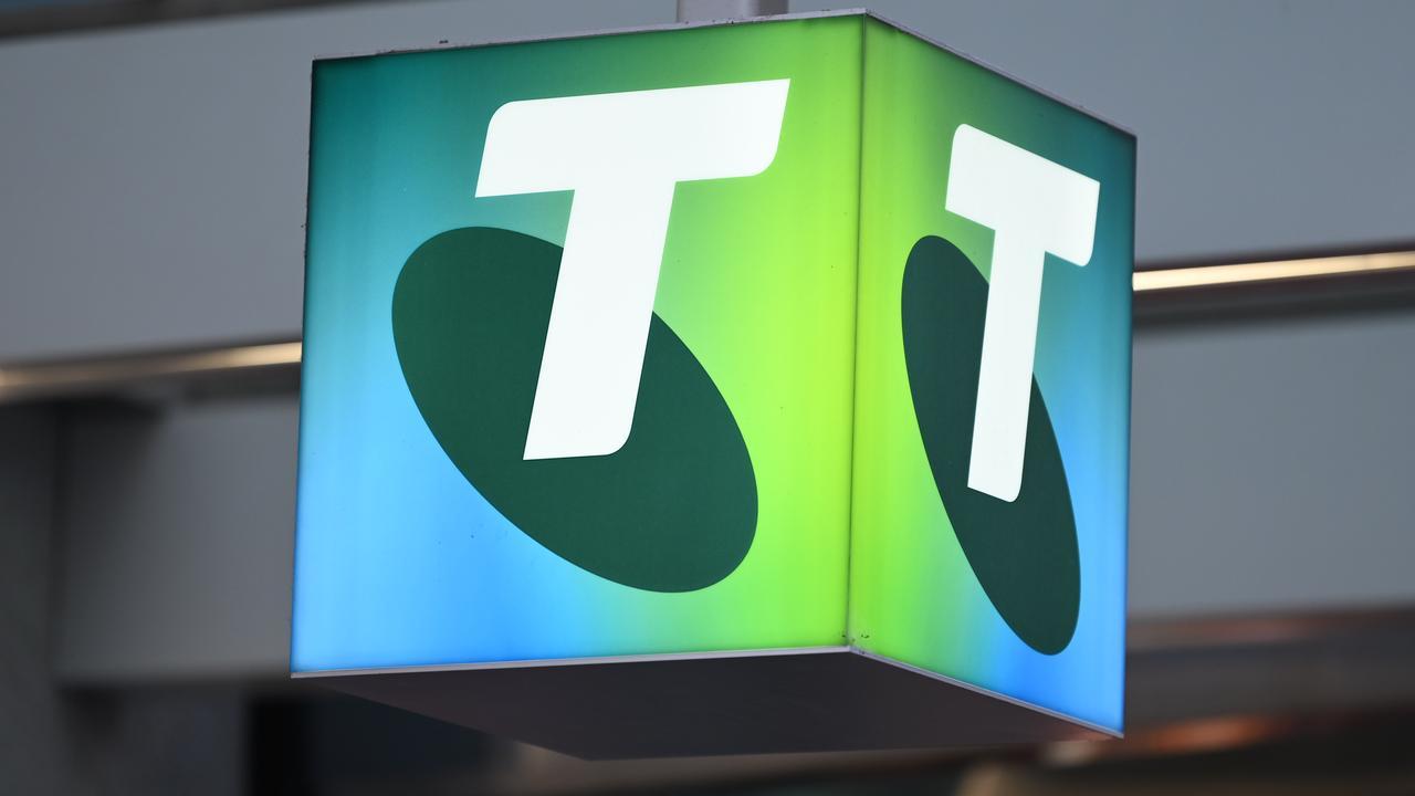 A Telstra service provider was hit in a cyber attack. Picture: NCA NewsWire / Naomi Jellicoe